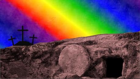 He has risen, just as He said